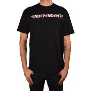 Independent Bar Cross black T-Shirt