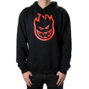Spitfire Bighead black/red Hooded