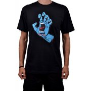 Santa Cruz Screaming Hand black Camiseta