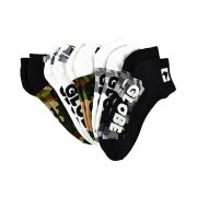 Globe Malcom camo Pack of 5 Ankle Socks