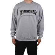 Thrasher Hometown grey mottled Sweater