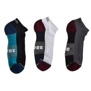 Globe Evan white/navy/black 5er Pack Knöchel Socken